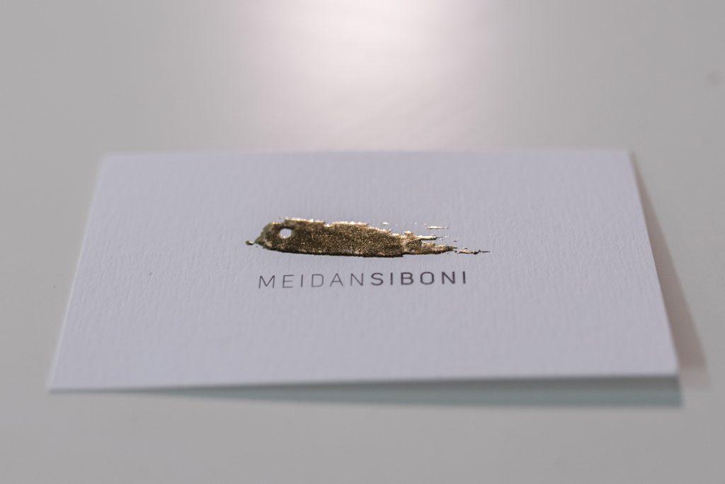 עיצוב כרטיס ביקור - מידן סיבוני